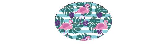 Fillers > Oval Filler > Flamingo