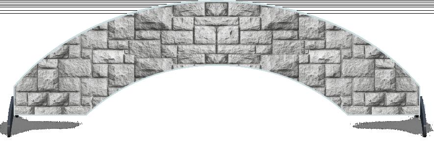 Fillers > Arch Filler > Pillar Brick