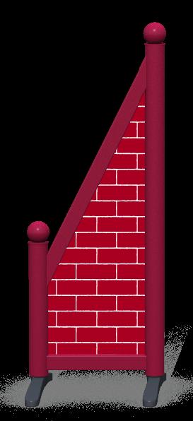 Wing > Sloping Printed > Full Brick