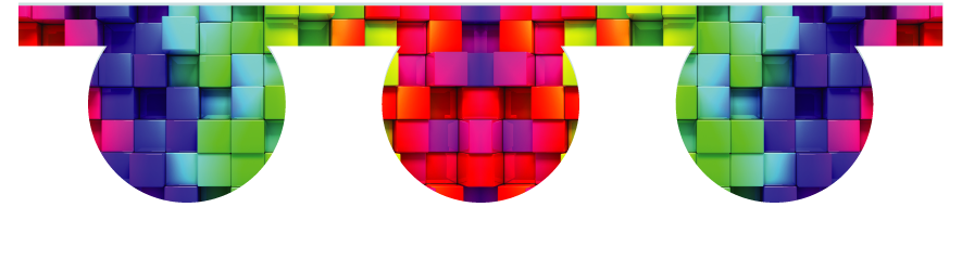 Fillers > O Filler > Rainbow Cubes