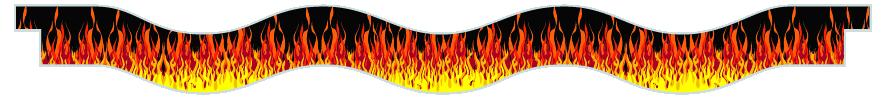 Planks > Wavy Plank > Hot Rod Fire