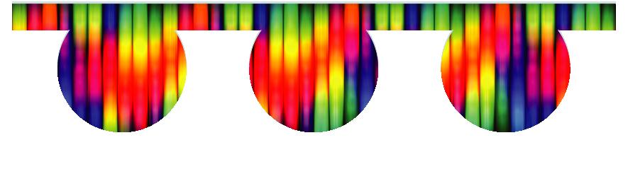 Fillers > O Filler > Rainbow Tubes