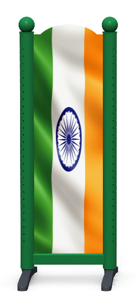 Wing > Combi M > Indian Flag