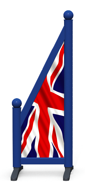 Wing > Sloping Printed > United Kingdom Flag