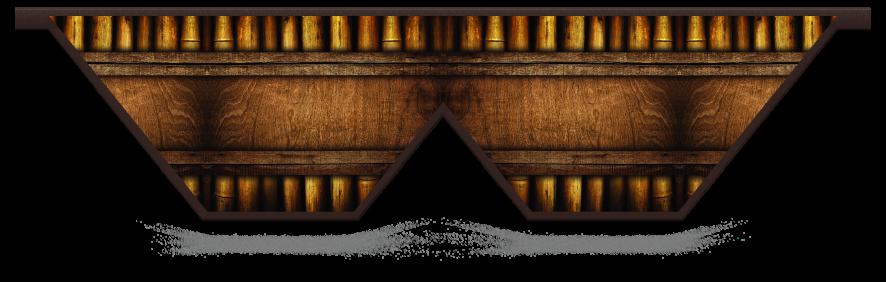 Fillers > Double V Filler > Bamboo Frame