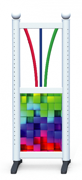 Wing > Combi G > Rainbow Cubes