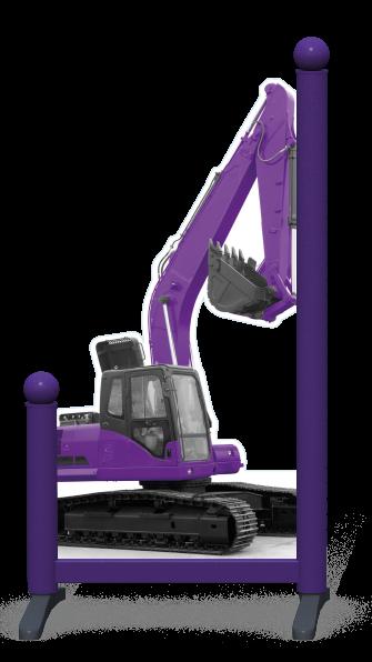 Wing > Digger > Purple Digger
