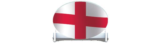 Fillers > Oval Filler > St Georges Flag