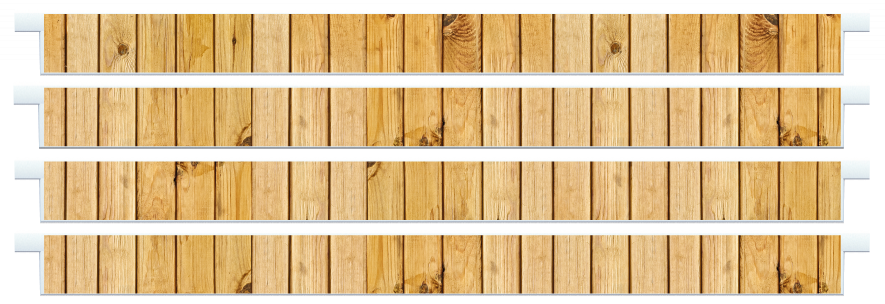 Planks > Straight Plank x 4 > Light Wood