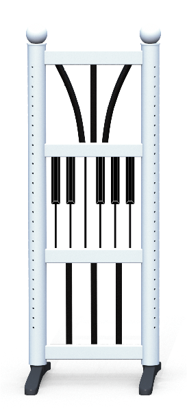 Wing > Combi D > Piano Keys