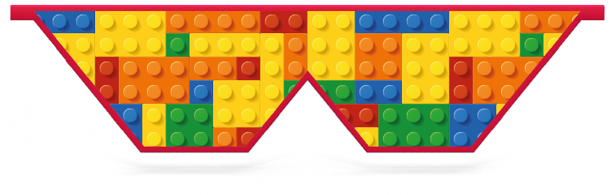 Fillers > Double V Filler > Toy Bricks