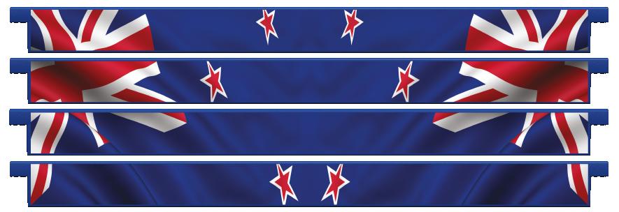 Planks > Straight Plank x 4 > New Zealand Flag