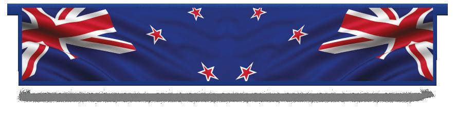 Fillers > Hanging Solid Filler > New Zealand Flag