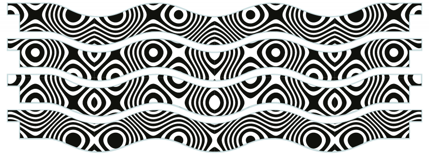 Planks > Wavy Plank x 4 > Twisted Circles