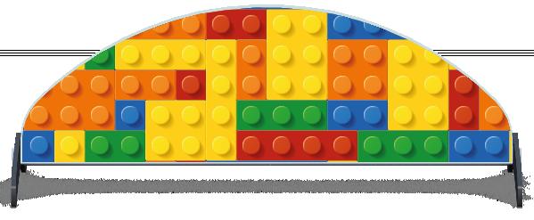 Fillers > Half Moon Filler > Toy Bricks