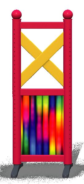 Wing > Combi F > Rainbow Tubes
