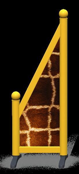 Wing > Sloping Printed > Giraffe Skin