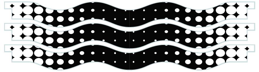 Planks > Wavy Plank x 3 > Spots Faded