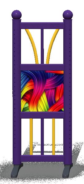 Wing > Combi D > Rainbow Ribbons