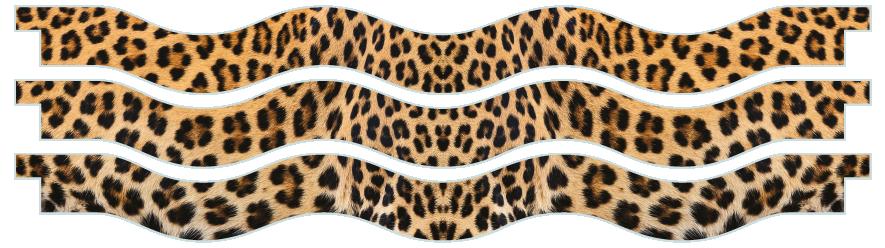 Planks > Wavy Plank x 3 > Leopard Skin