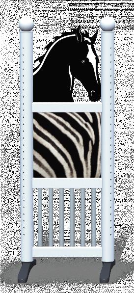 Wing > Combi Horse Head > Zebra Skin