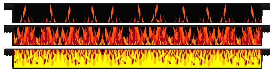 Planks > Straight Plank x 3 > Hot Rod Fire