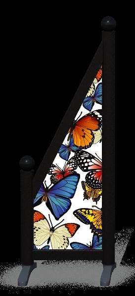Wing > Sloping Printed > Butterflies