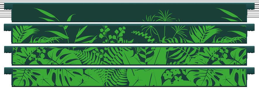 Planks > Straight Plank x 4 > Jungle