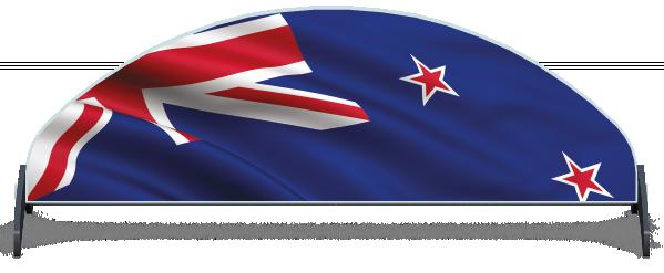 Fillers > Half Moon Filler > New Zealand Flag
