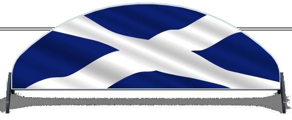 Fillers > Half Moon Filler > Scottish Flag