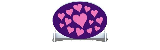 Fillers > Oval Filler > Hearts