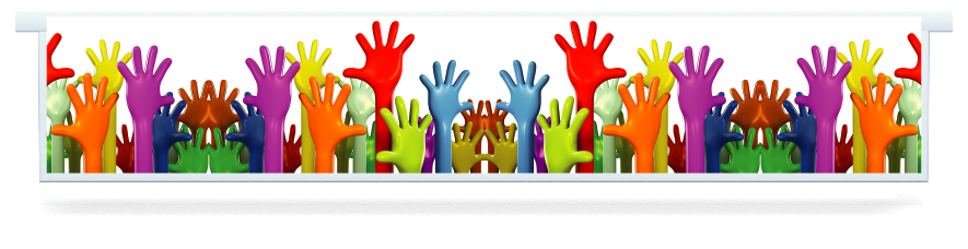 Fillers > Hanging Solid Filler > Colourful Hands