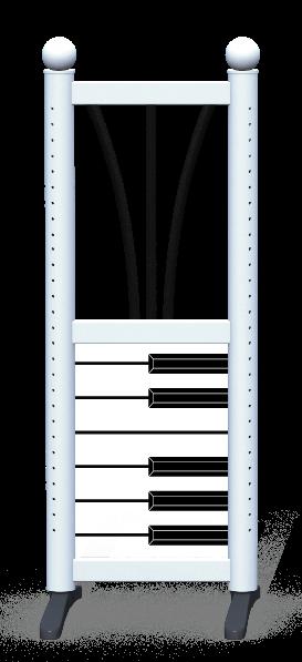 Wing > Combi G > Piano Keys