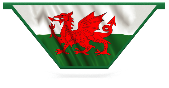 Fillers > V Filler > Welsh Flag