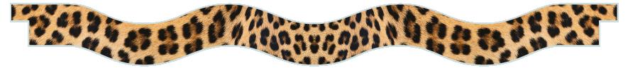 Planks > Wavy Plank > Leopard Skin