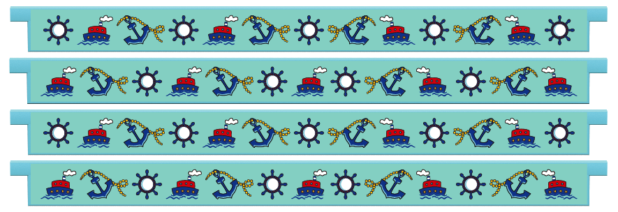 Planks > Straight Plank x 4 > Nautical