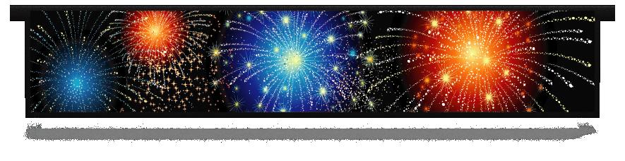 Fillers > Hanging Solid Filler > Fireworks