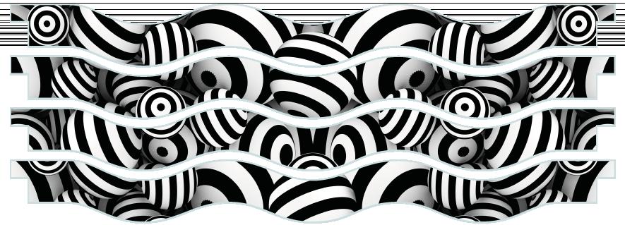 Planks > Wavy Plank x 4 > Striped Circles