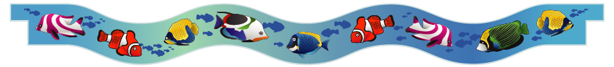 Planks > Wavy Plank > Tropical Fish