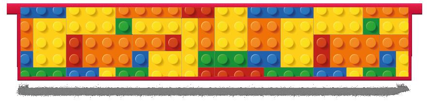 Fillers > Hanging Solid Filler > Toy Bricks