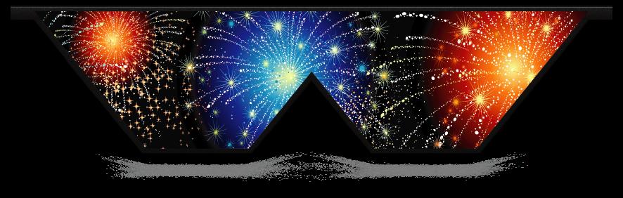 Fillers > Double V Filler > Fireworks