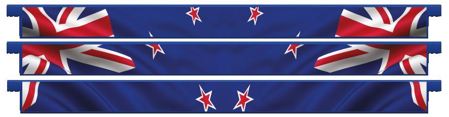 Planks > Straight Plank x 3 > New Zealand Flag