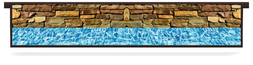 Fillers > Hanging Solid Filler > Wall And Pool