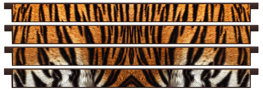Planks > Straight Plank x 4 > Tiger Skin