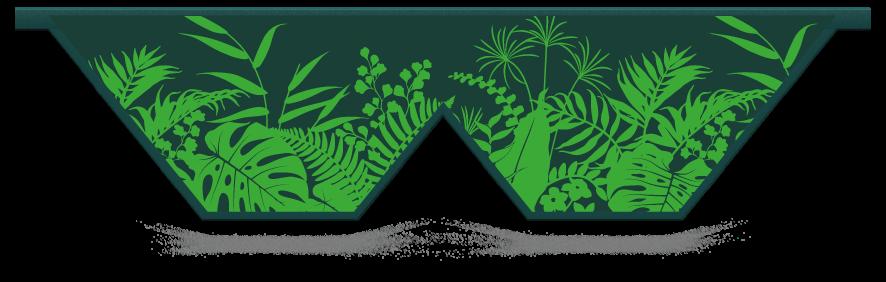 Fillers > Double V Filler > Jungle