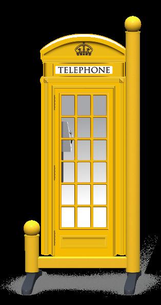Wing > Phone Box > Yellow Telephone Box