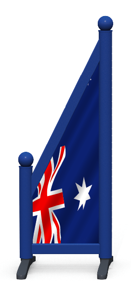 Wing > Sloping Printed > Australian Flag