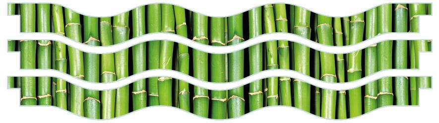 Planks > Wavy Plank x 3 > Bamboo