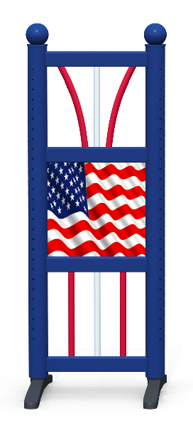 Wing > Combi D > American Flag