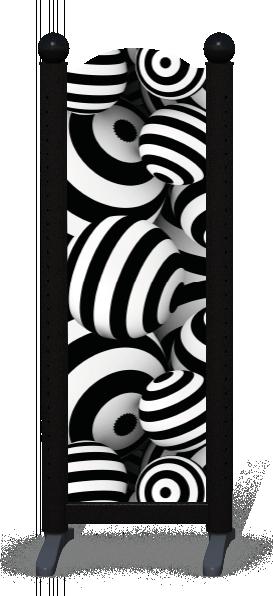Wing > Combi M > Striped Circles